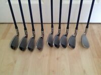 Mens Set of Golf Irons Clibs For Sale. VGC.