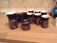 Denby Arabesque Coffee Mugs