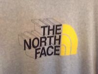 North Face t shirt size large