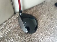 Left hand Taylormade R9 driver .