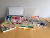 Large Loom Band Collection & Book