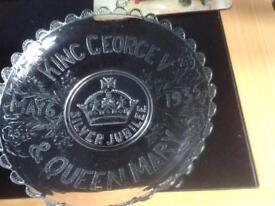 King George Queen Mary dish