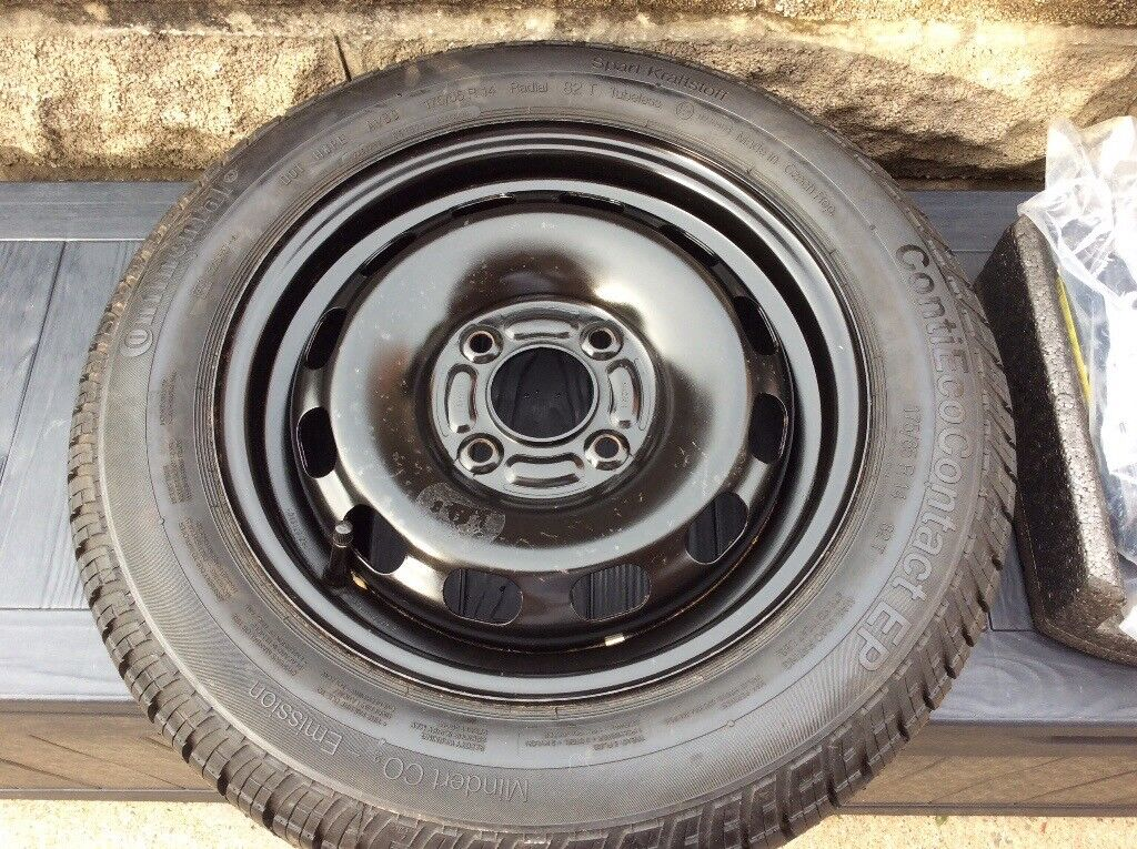 Ford Fiesta spare wheel pack