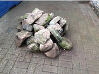 Free pile of rocks collection only