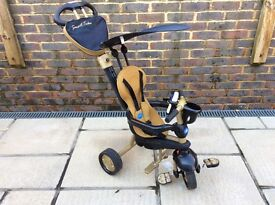Smart-Trike Gold and Black
