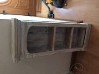 Shabby chic /distressed pine cupboard