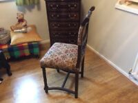 Set of 4 antique French chairs in excellent condition
