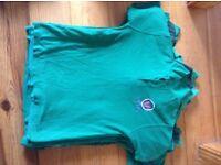 Vivo fleece sweatshirts and polo shirts