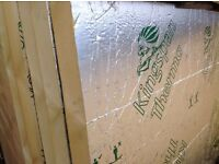 Kingspan Insulation Boards seconds both sides foiled