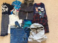 Bundle of boys clothes size between 12-24 months