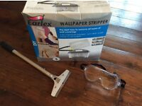 Wallpaper Stripper Set - Steamer, Stripping Blade, and Goggles