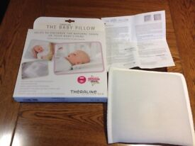 Baby theraline pillow for flat head