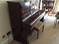 Brasted Overstrung Underdamped second hand Piano