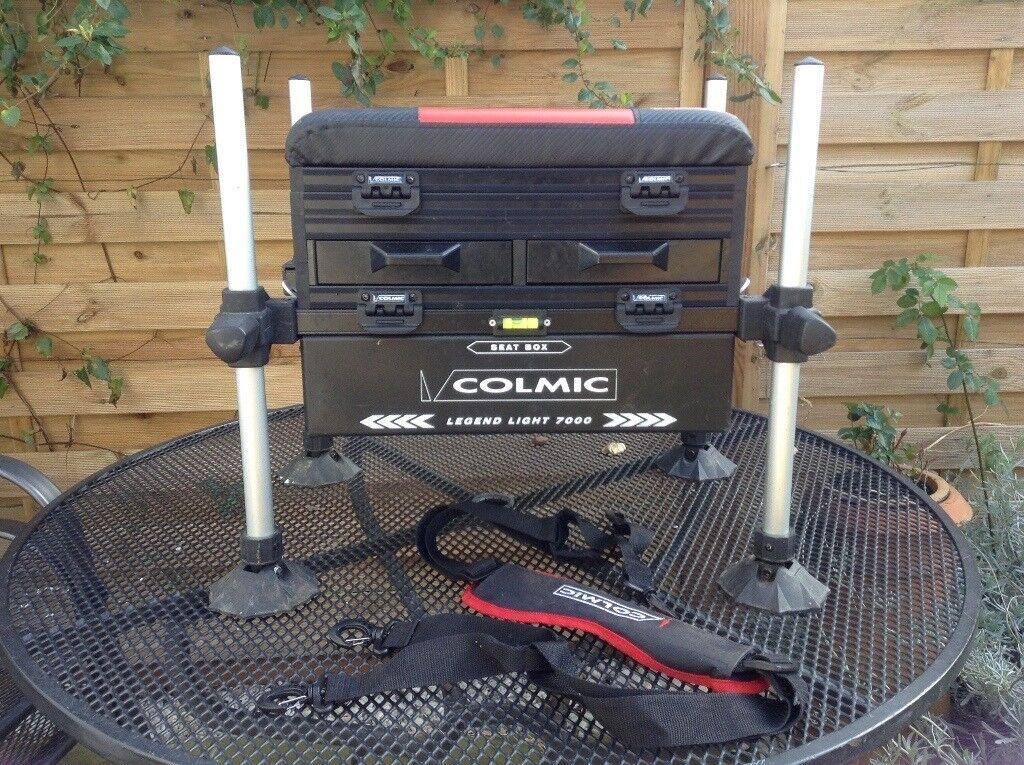 Colmic Legend Light 700 seat box.