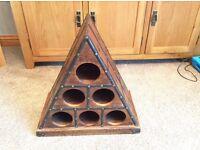 Wine Rack - Pyramid Shaped