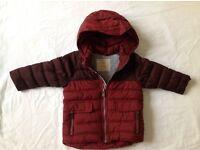 Zara Padded Boys Coat