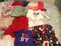 Bundle of girls clothes age 12/18 months and 18/24 months