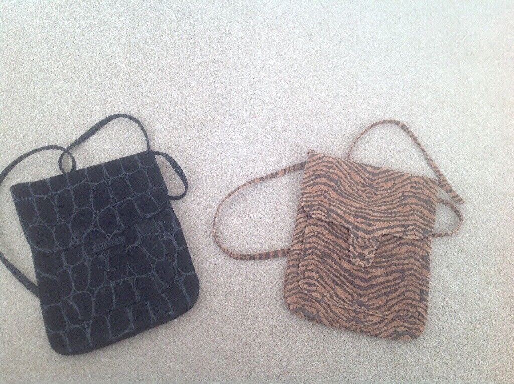 2 small leather shoulder bags   in Epping, Essex   Gumtree fe10f905c1