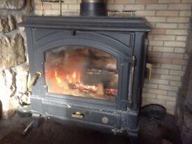 Multifuel stove.