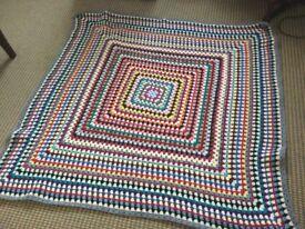 Crochet blankets x 3