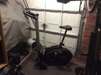 York 2 in 1 exercise bike and rower