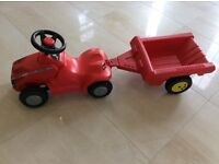 Rolly Massey Ferguson minitrac and trailer
