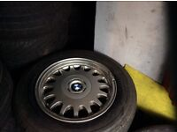 16 inch BMW alloys with Michelin tyres