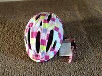 Girls cycle helmet - brand new