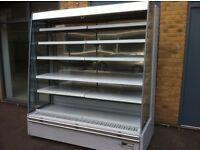 6ft Troy Cabinet Sandwiches Dairy Meats Drinks Fridge Multideck Refrigeration