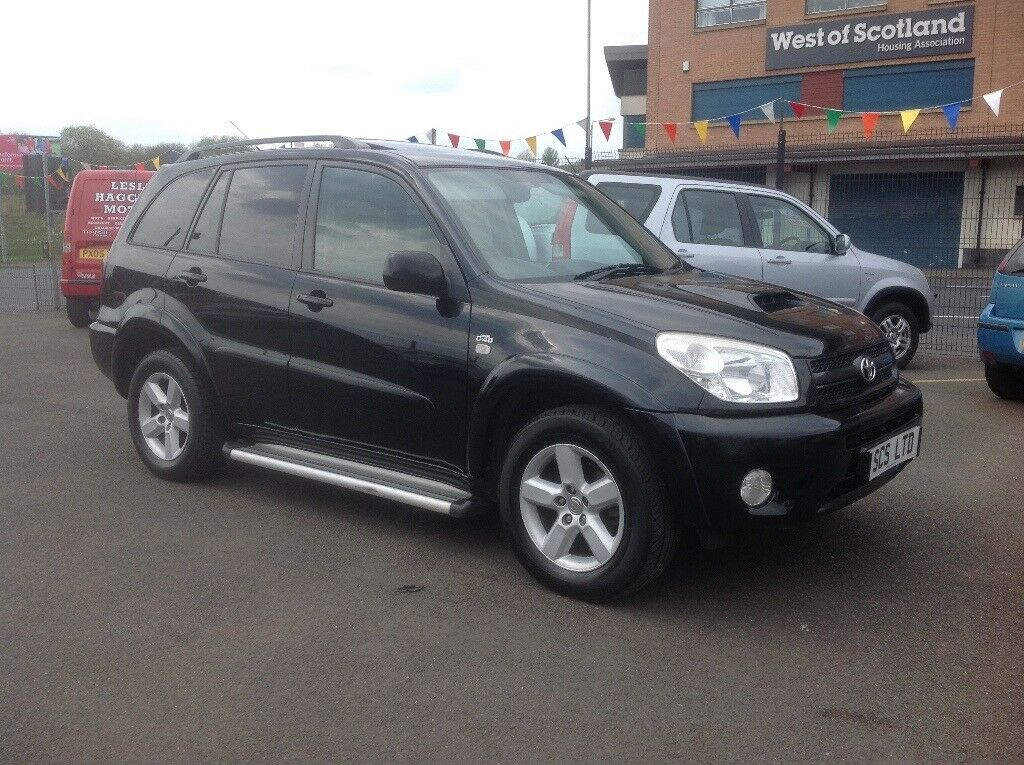 toyota rav4 2 0 d 4d diesel 2005 103000 miles fsh 9 stamps mot july 2018 privacy glass black. Black Bedroom Furniture Sets. Home Design Ideas