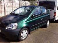 Toyota YARIS T-SPIRIT VVT-I 2001 For Sale - In Excellent working condition