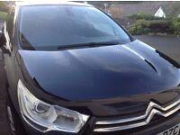 Citroen C4 2012 exclusive black exclusive, factory SATNAV