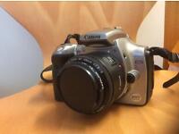 Canon 300d Dslr + canon ef 50mm 1.8 prime