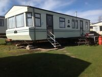 HOLIDAY STATIC CARAVAN FOR RENT LATEDATE SAT 21/10/17 7 NTS NOW £299(was£550)AT DEVON CLIFFS EXMOUTH