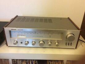 Nikko NR 519 Vintage Receiver Amplifier With Original Manual
