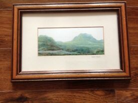 2 lovely Leslie Lamb pictures for sale.