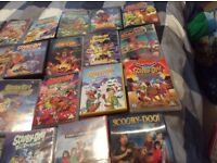 Bundle of variety of scooby doo dvds