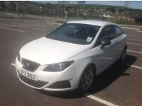 2010 SEAT IBIZA sports/coupe LOW MILEAGE