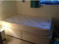 Double bed, almost new