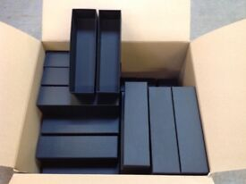 Presentation boxes for wines and spirits (60 boxes as sale unit and more available)