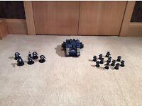Warhammer 40K space marine collection