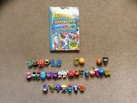 Moshi Monsters The Ultimate Collectors Guide and figures