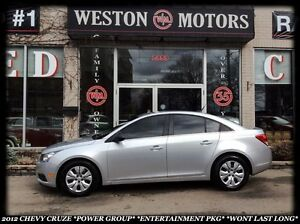 2012 Chevrolet Cruze LS *FULLY EQUIPPED *GREAT DEAL *WONT LAST L
