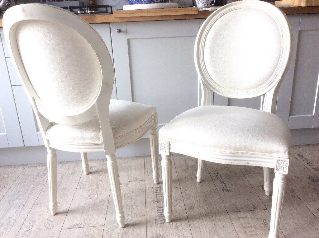 French Shabby Chic Chairs Barker Stonehouse Pair Or Single 65 Each