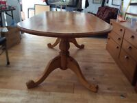 Rustic Farmhouse Pine Dining Table ( 2m long )