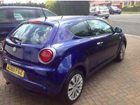 Alfa Romeo mito 1.4 Petrol Turismo, Tornado Blue