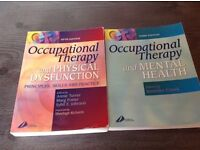 Occupational Therapy Books for University