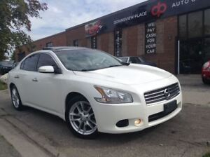 2011 Nissan Maxima SV PANO ROOF| LEATHER| CAMERA| VENT SEAT