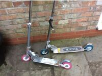 Pair of scooters (his and hers)