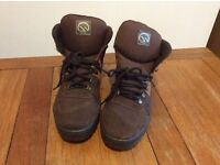 Hawkshead boots, brown, vgc, size 43 Uk 9, £15
